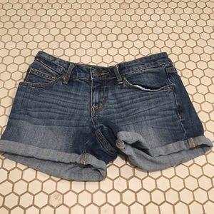 Pants - Mid Rise Denim Shorts